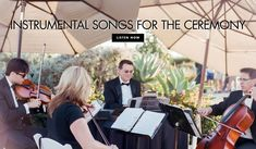 Photo by Amy & Stuart Photography; EventDesign by White Lilac Inc.While some couples have no problem steering away from the traditional aspects of getti… Wedding Music List, Wedding Movies, Top First Dance Songs, Montage Laguna Beach, Music Articles, Beatles Songs, Father Daughter Dance, Pop Songs, Wedding Entertainment