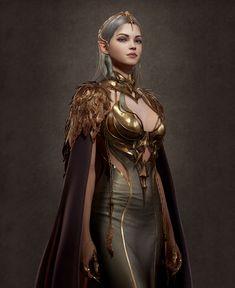 Fantasy Art Women, Beautiful Fantasy Art, Dark Fantasy Art, Fantasy Girl, Fantasy Artwork, Fantasy Princess, Fantasy Portraits, Character Portraits, Character Outfits