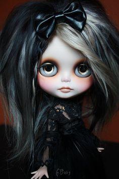 Genesis Black Magic Girl by GBabydolls.deviantart.com on @deviantART
