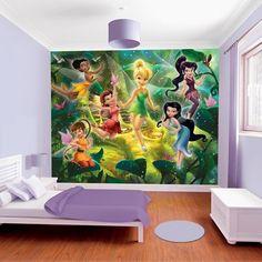 Disney Fairies Mural from Walltastic