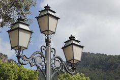 street, lamp, valdemossa, Mallorca