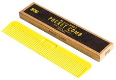 Byrd Hairdo Products Byrd's Original Comb Haar-Tool  #comb #hair #yellow #pocket #edc #styling