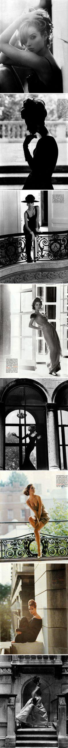 Christy Turlington by Steven Meisel for Vogue Italia.