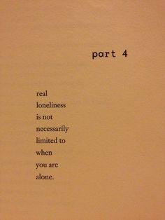 part 4. Real lonliness...Charles Bukowski