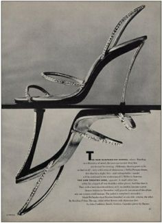 1951 | I. Miller ad  Design & Patent by André Perugia
