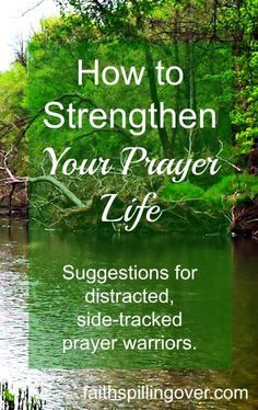 Do you long for a more powerful prayer life, but struggle with boredom when you actually sit down to pray. Five practical suggestions to help distracted and side-tracked prayer warriors.