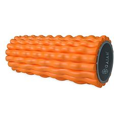 The Restore Deep Tissue Roller from Gaiam has a sturdy hollow center wrapped in firm, textured foam; it is specially designed to stimulate blood flow and alleviate muscle stiffness. Rolling out has become an important step in modern workout programs.