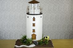 How to Build a Model Lighthouse for a School Project