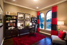 home decor rustic Study Office, San Antonio, Model Homes, Texas, Office Decor, Interior Inspiration, Rustic Decor, My House, Warm