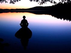 Meditating  - Starting my morning with meditation.  Love this!