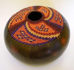 Photo: My latest gourd by Tina Anderson