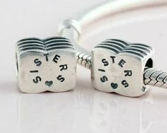 Sterling Silver Friendship Sisters Charms - Tibet Silver Charms - Charms - LYDIA JEWELLERY