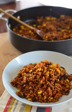 Spicy Farro Risotto | Slimming Eats - Slimming World Recipes