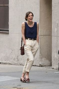 keira knightley bangs begin again - Google Search