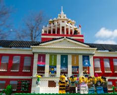 The best (most awesome) April Fool's website prank ever. You win, University of Rochester! Rush Rhees Library in Lego bricks.