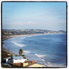 Perfect day. #pacificocean #pacific #malibu #ocean #coast #beach #waves #view