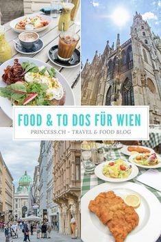 Travel Tipps für #Wien: #Restaurants, #Schnitzel, #Frühstück und was man anschauen sollte - #Food & #Sightseeing Tipps Heart Of Europe, Vienna, Travel Destinations, Yummy Food, Eat, World, Travelling, Restaurants, German