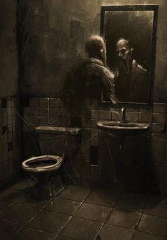 Creepy Drawings, Dark Art Drawings, Horror Artwork, Arte Obscura, Macabre Art, Arte Horror, Creepy Art, Dark Photography, Dark Fantasy Art