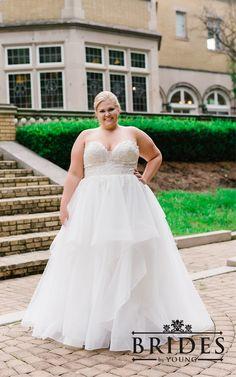 Plus size wedding dresses Elegant Wedding Gowns, Wedding Dresses, Debutante Dresses, Princess Bridal, Cinderella Wedding, Prom Dresses For Sale, Plus Size Wedding, Bridal Boutique, Bridal Collection