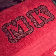 Embossed Frame Machine Embroidery Monogram Alphabet | Designs by JuJu