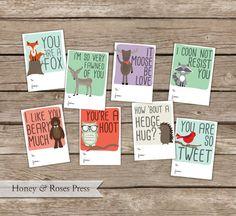 Hey, diesen tollen Etsy-Artikel fand ich bei https://www.etsy.com/de/listing/214670276/printable-woodland-valentines-day-cards