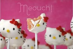 Test and Share: Hello Kitty Cake Pops Recipe