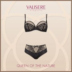 Valisere - QUEEN OF THE NATURE #Valisere #Lingerie #Dessous #sexy #Unterwaesche