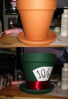 Flower pot hat