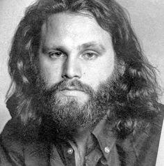 Jim Morrison /// Alas, in this shot, he looks like he has one foot in the grave. AC