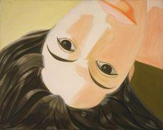 Alex Katz- Ada Upsidedown Artist Birthday, Birthday Painting, Pop Art, Figure Painting, Painting & Drawing, Brooklyn, Alex Katz, Sculpture Painting, Canadian Art