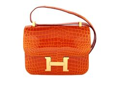 1d3a7e34b5b This magnificent Hermes Constance Pain D Epice comes in a wonderful orange  coloured shiny niloticus croc skin with gold hardware. Birkin Custom Make