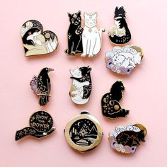 Jacket Pins, Willow Pattern, Cool Pins, Pin And Patches, Visual Kei, Pin Badges, Pin Collection, Glitter, Gifts