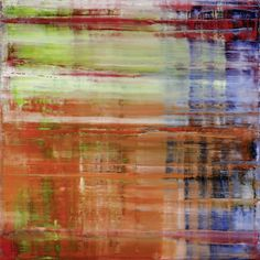 Gerhard Richter - love this mon's work!  So many layers.