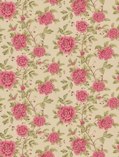 Peony Tree, a feature wallpaper from Sanderson