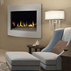 Napoleon BGD36CFG-Crystallo Gas Fireplace - modern style