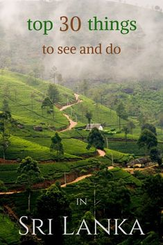 The most detailed list of things to see and do in Sri Lanka. Read to find out the best recommendations! #AsiaTravel