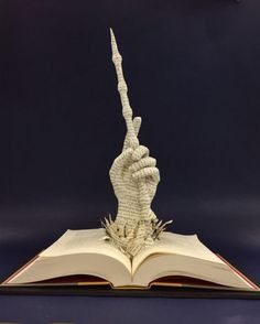 "ohhbobs: ""Always"" △⃒⃘ ⚯͛ a mixed media altered book sculpture 