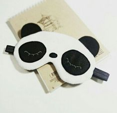 Perfect gift for kids…soft, comfortable and funny panda… Cute panda sleep mask! Perfect gift for kids…soft, comfortable and funny panda! Sewing Projects For Kids, Sewing For Kids, Diy For Kids, Gifts For Kids, Cute Sleep Mask, Kids Sleep Mask, Panda Eyes, Panda Party, Soft Eyes