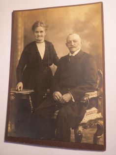 Photograph: Ziemer Koeslin - altes Paar - Mann mit Bart & Frau