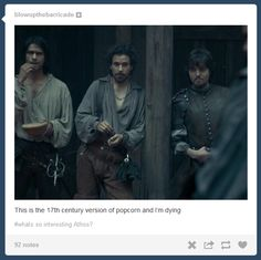 The Musketeers - 1x08 - The Challenge, That comment makes it all the funnier. <3 I LOVE THIS SCENE