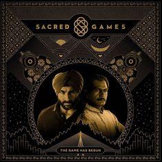 Saif Ali Khan and Nawazudding Siddiqui in Sacred Games Season 1 Watch New Movies Online, Indian Web, Secret Game, It's Going Down, All Episodes, Web Series, Drama Series, Season 3, Netflix