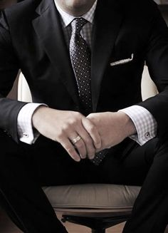 Real Men Do Wear Cufflinks. Choose your Side. #MensStyle