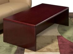 Exceptionnel Simple Cherry Wood Coffee Table