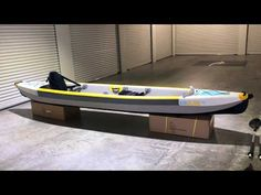 Bay Sports Air Glide 473 | 100% Drop-Stitch Inflatable Kayak | HD Walkthrough Video - YouTube