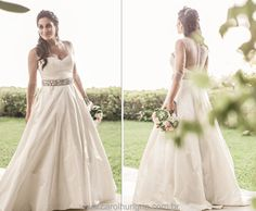 Noiva Izabella Guerra - Vestido Carol Hungria