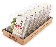 Pearlfisher for Bodega, / olive packaging