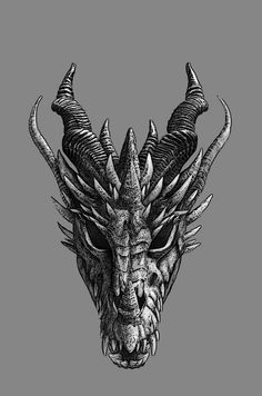 chinese tattoo designs, tattoos for girls, Dragon Tattoo Drawing, Dragon Head Tattoo, Dragons Tattoo, Smaug Tattoo, Skyrim Tattoo, Chinese Tattoo Designs, Dragon Tattoo Designs, Medieval Tattoo, Head Tattoos