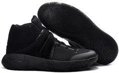 Nike Kyrie 2 Mens Basketball Shoes Black Warrior0