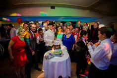 Tuba and Hearn's Wedding - Enjoying the Cake