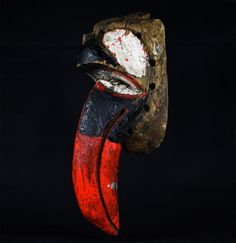 Nyau Bird Mask - CHEWA - Katete District - Zambia Bird Masks, African Masks, Art Auction, Congo, Highlight, Vintage, House, Lights, Home